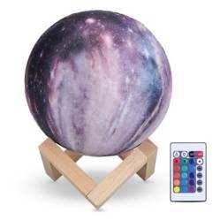 Velador Planeta 3D 17x15 cm