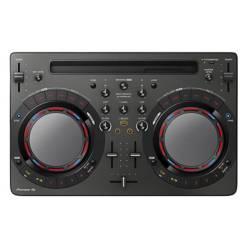 Controlador DJ 2Chs USB 2 platos 8 pads y entrada de mic