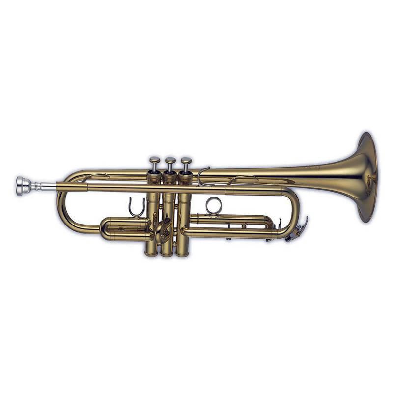 Knight - Trompeta Bb laqueada con estuche ABS