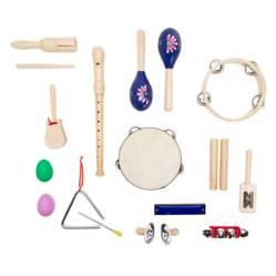 Knight - Set de percusión de 10 instrumentos para niños