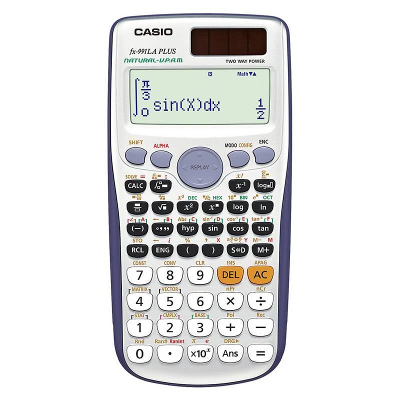Casio - Calculadora científica FX-991LAPLUS