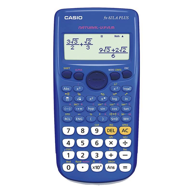Casio - Calculadora científica FX-82LAPLUS-BU