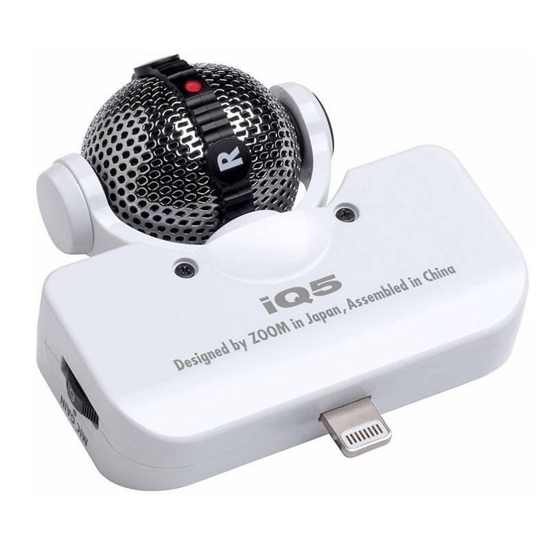 Zoom - Micrófono IQ5/W
