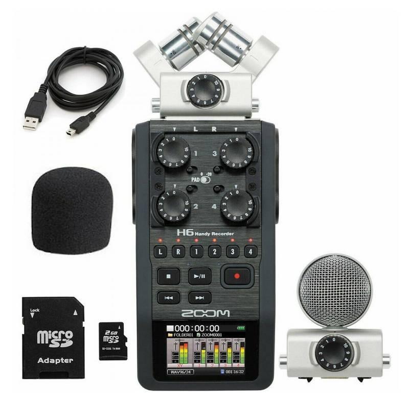 Zoom - Grabador digital H6