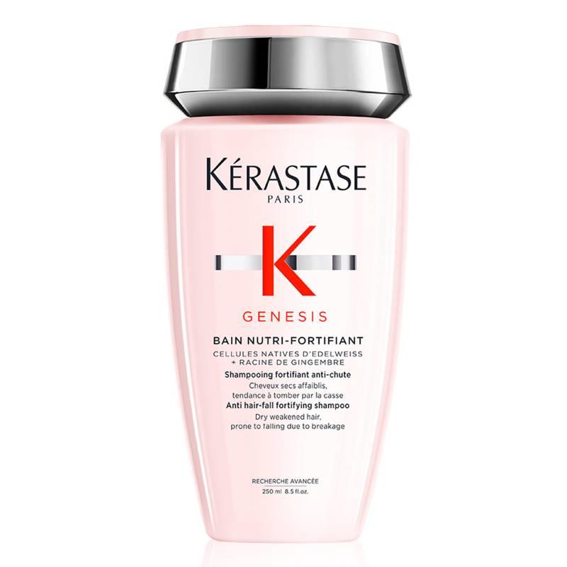 KÉRASTASE - Shampoo Genesis Nutri-Forifiant 250 ml - fortalecedor anti caída por rotura para cabello seco