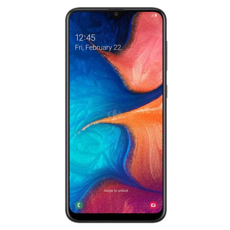 Samsung - Celular libre Galaxy A20 32GB - Negro