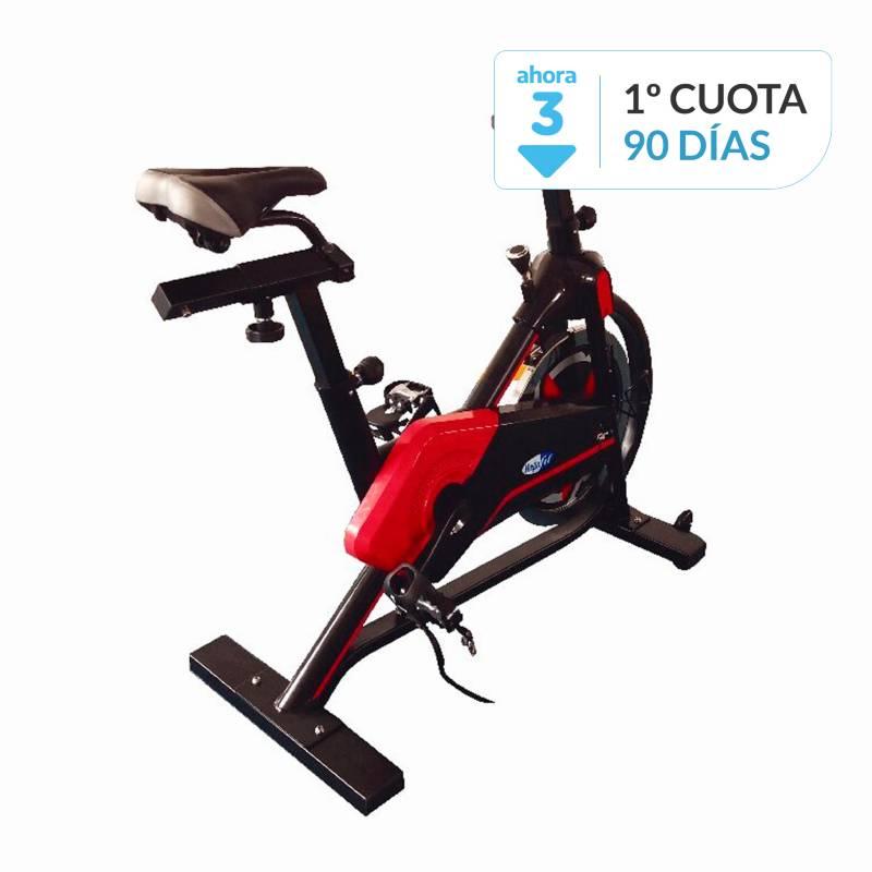 Megafit - Bicicleta spinning digital