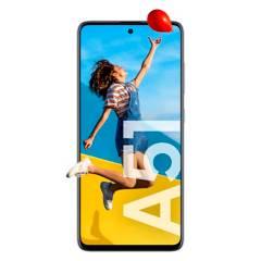 Samsung - Celular libre A51 Blanco 128GB 4GB RAM