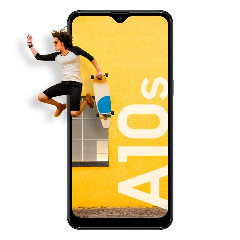 Samsung - Celular libre A10S Negro 32GB 2GB RAM