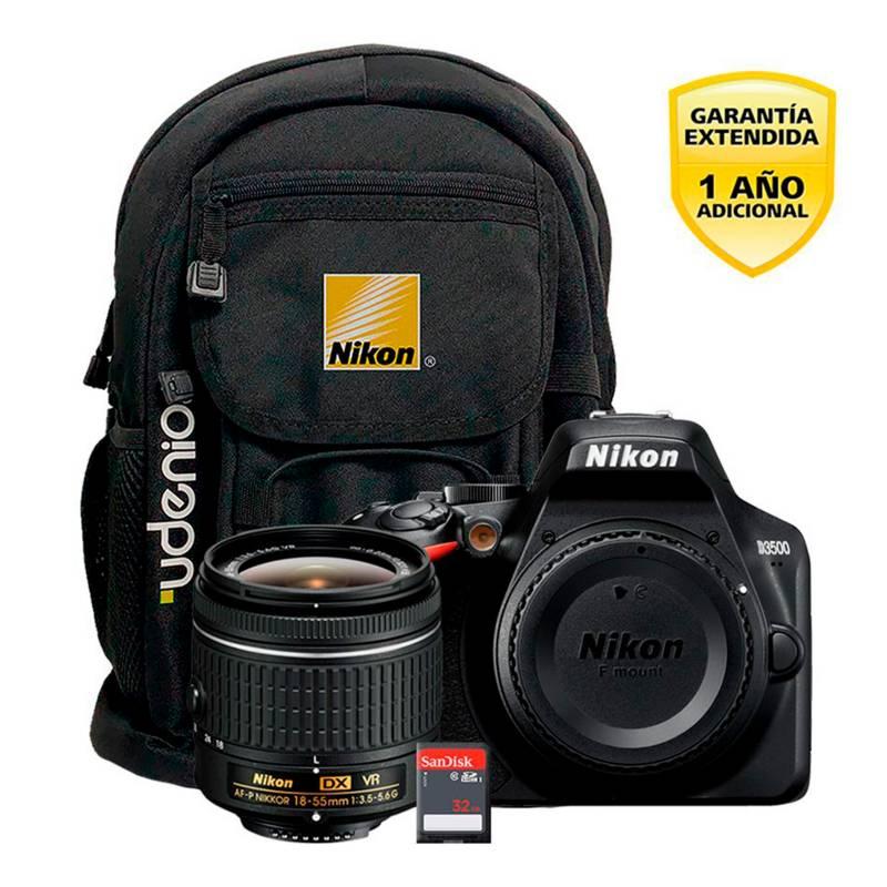 Nikon - Cámara D3500 18-55mm