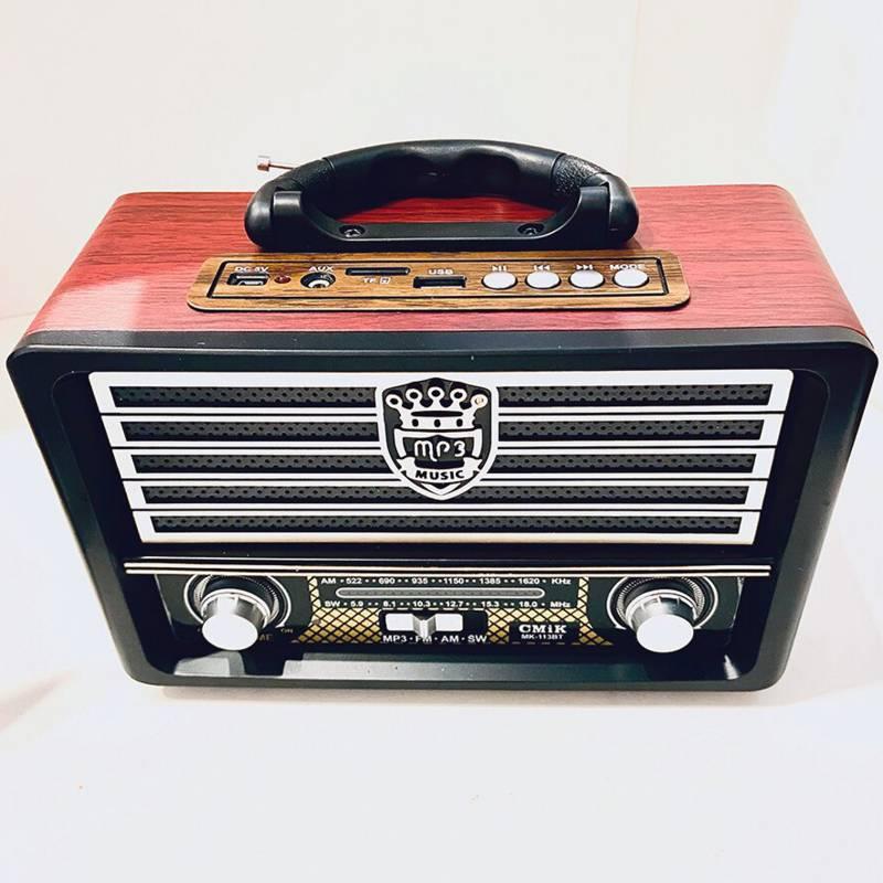 Cmik - Radio bluetooth portátil AM FM