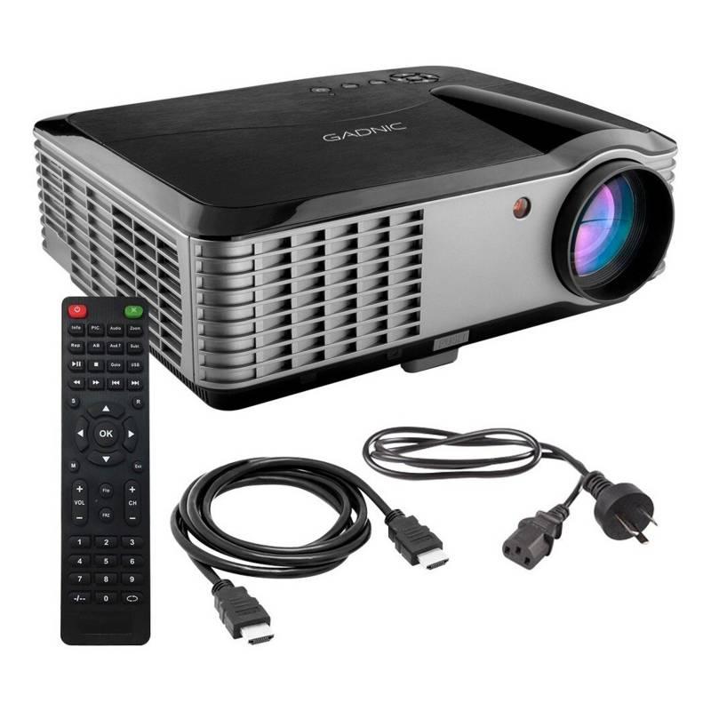 Gadnic - Proyector Led 6000 Lumenes Full HD