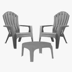 Garden Life - Juego de sillas Miami con mesa Puket