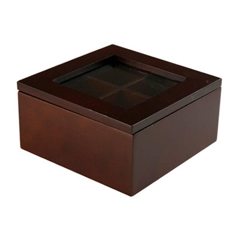 OKKO - Caja de té 4 divisiones