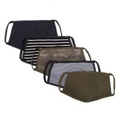 Generica - Pack por 5 tapabocas Army