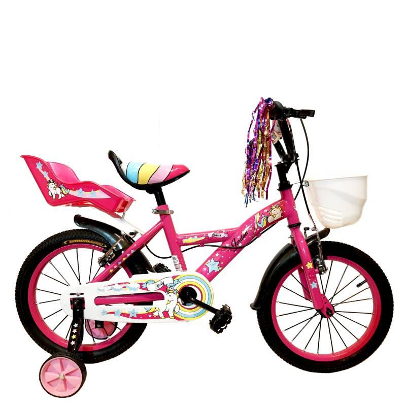 Jordan - Bicicleta con canasto R16