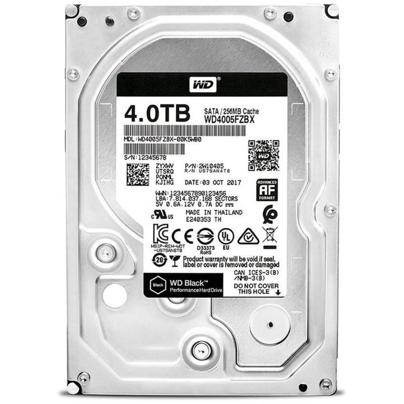Western Digital - Disco rígido 4TB