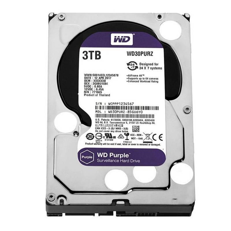 Western Digital - Disco rígido 3TB