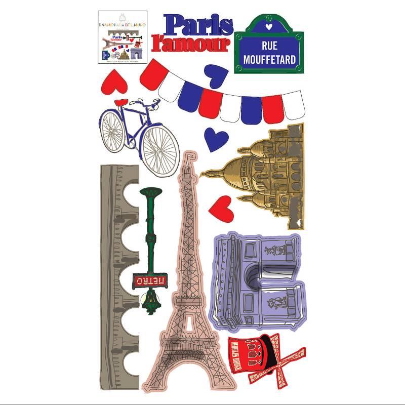 Vinilo troquelado París 35x60 cm