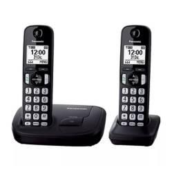Panasonic - Teléfono inalámbrico Kx-tgd212ag