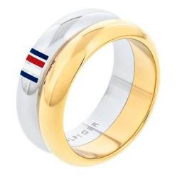 Tommy Hilfiger - Anillo doble