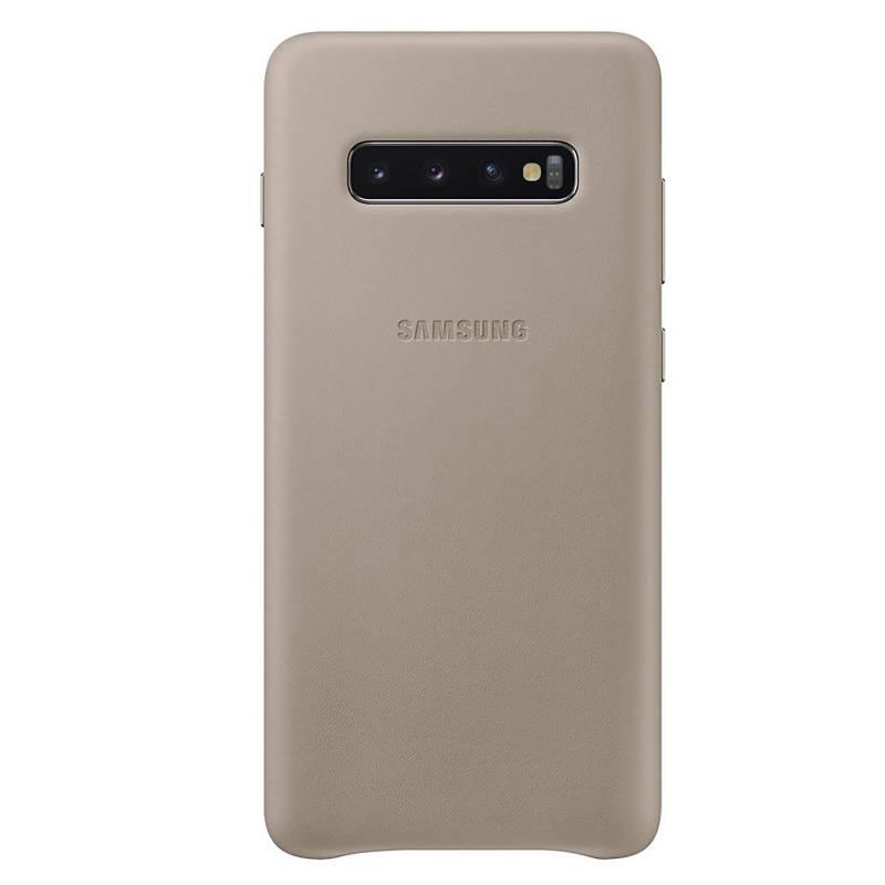 Funda Leather Cover Galaxy S10+
