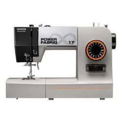 Toyota - Máquina de coser Power Fabriq 17