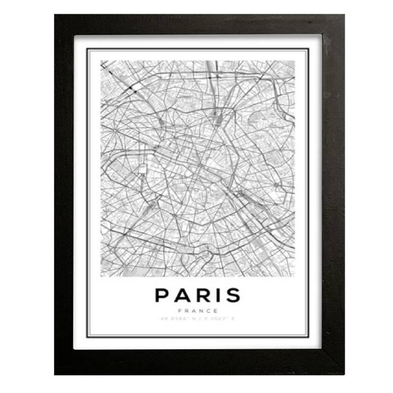 Cuadro Paris 42x32 cm