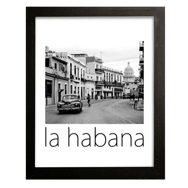 Cuadro La Habana 42x32 cm