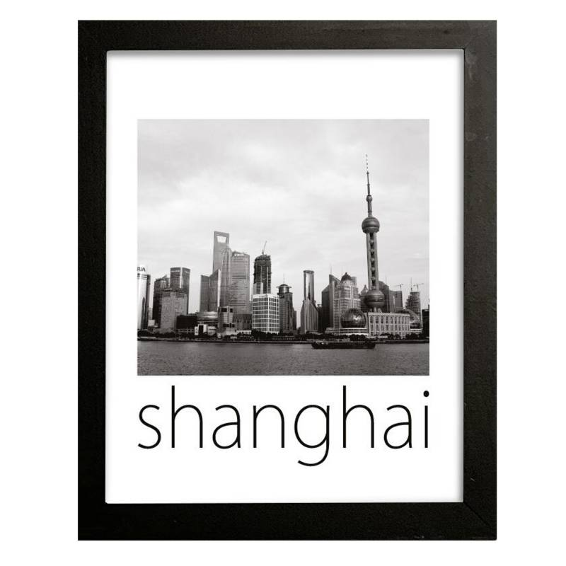 Cuadro Shanghai 42x32 cm