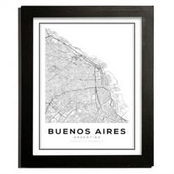 Puerta de Goya - Cuadro Buenos Aires 27.5x22.5 cm