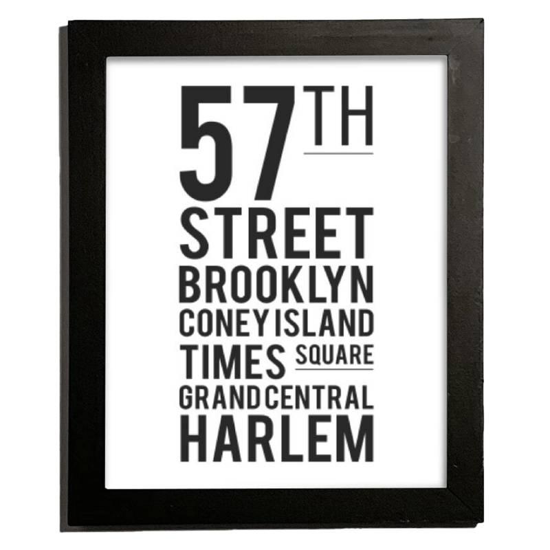 Cuadro NYC 27.5x22.5 cm