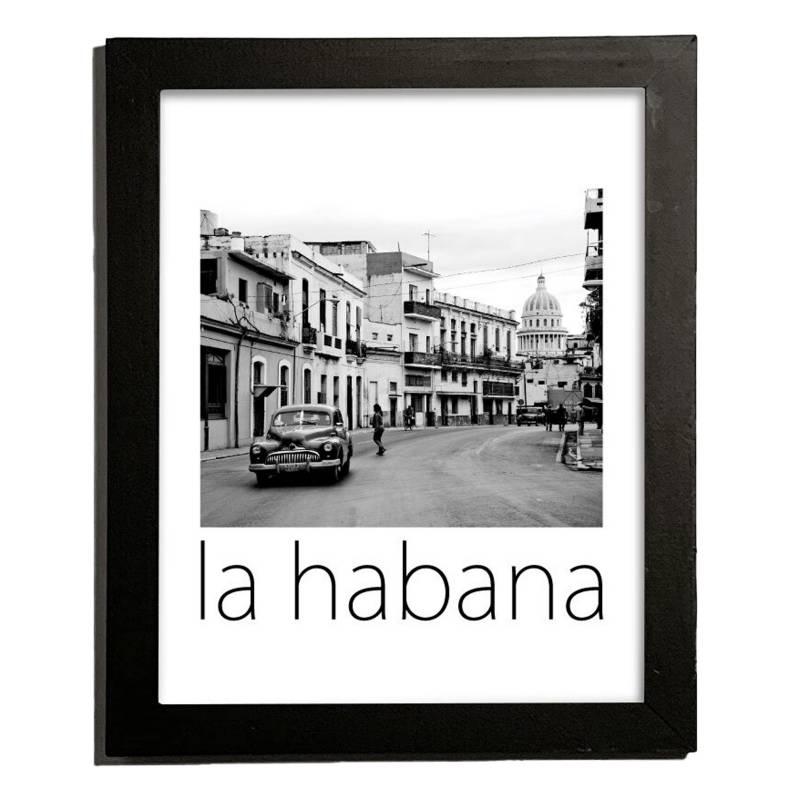 Cuadro La Habana 27.5x22.5 cm