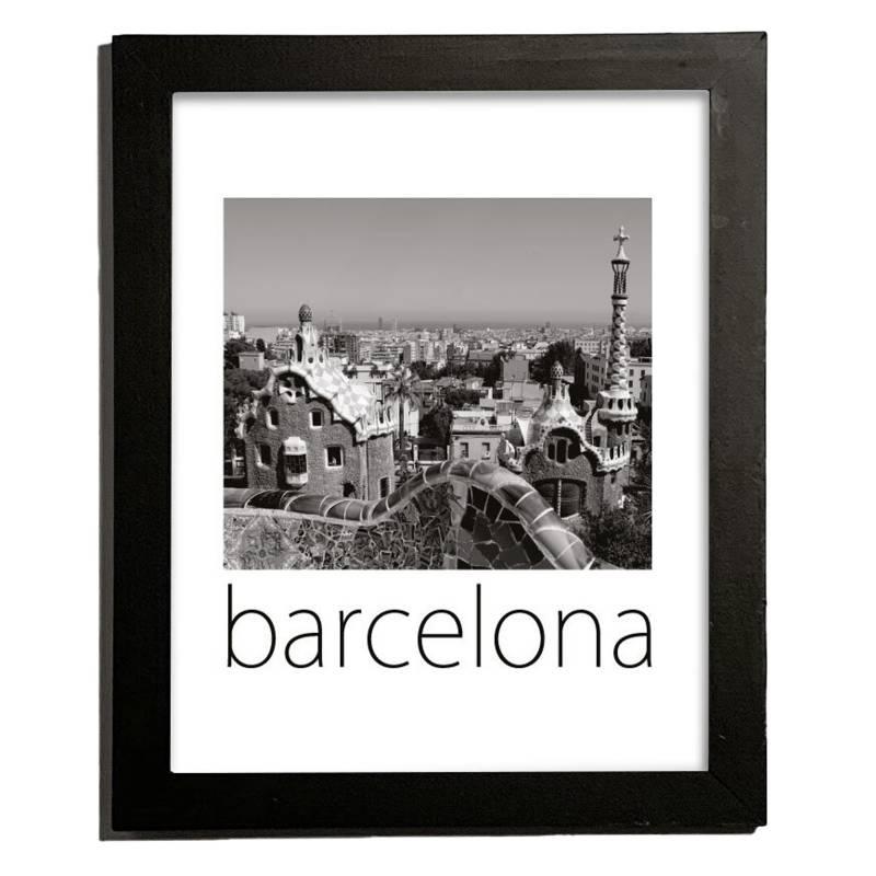 Cuadro Barcelona 27.5x22.5 cm