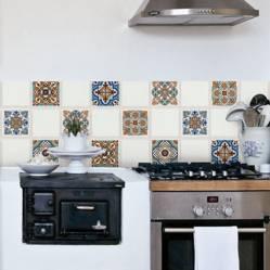 Muresco - Azulejos autoadhesivos por 6 15x15cm