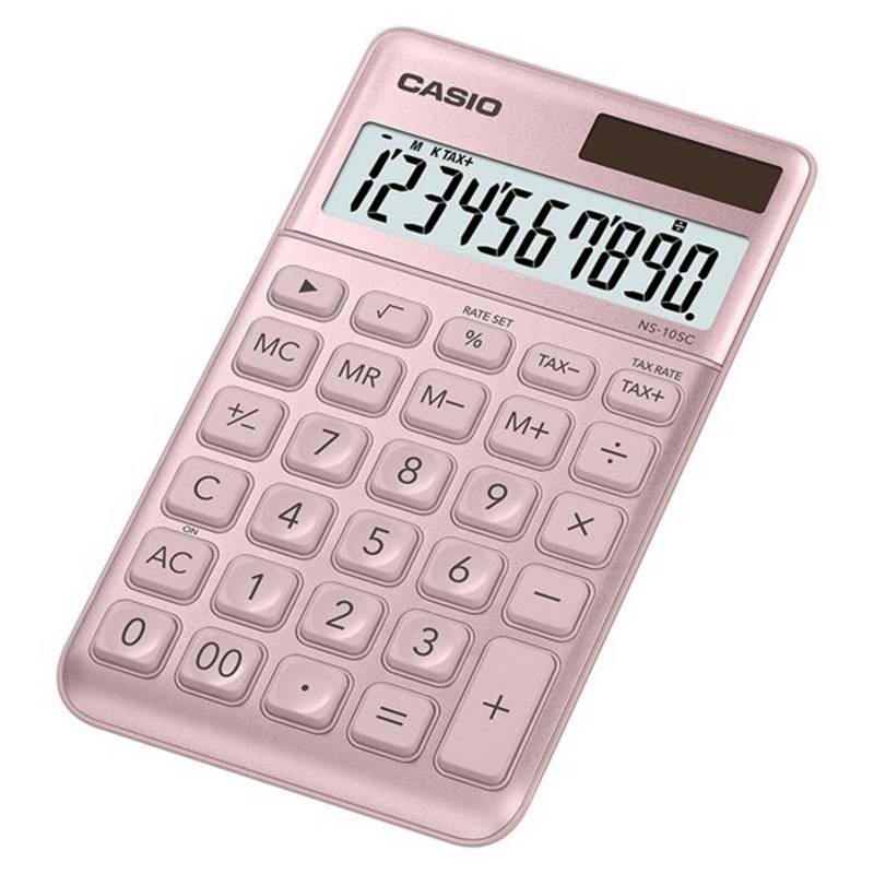 Casio - Calculadora NS-10SC-PK