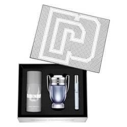 Paco Rabanne - Cofre Invictus EDT 100 ml + Deodorant 150 ml + EDT10 ml