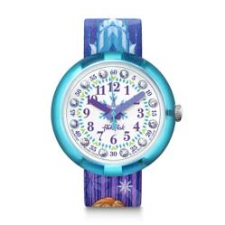 Swatch - Reloj flik flak frozen Elsa & Anna
