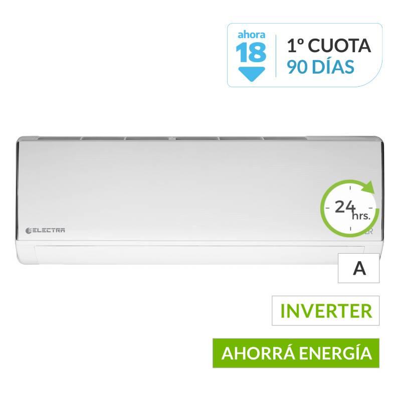 Electra - Aire acondicionado Split ETRDI35TC frío-calor inverter 3000 frigorías