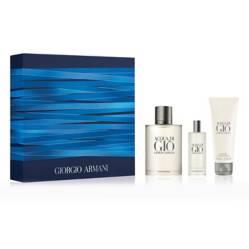 Armani - Cofre Aqua di Gio EDT 100 ml + Gel Douche 75 ml + EDT 15ml