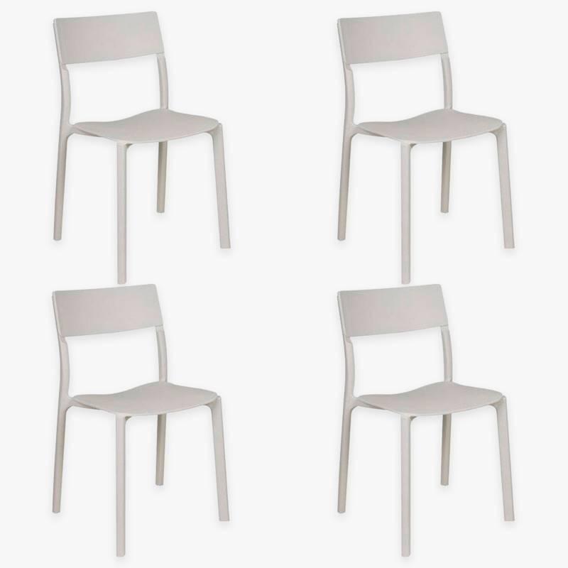 Makom - Set por 4 sillas de comedor State