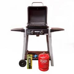 Bram-Metal - Parrilla a gas master grill con garrafa