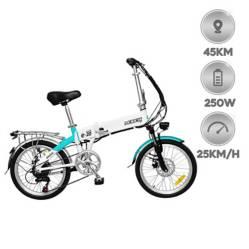 Mobox - Bicicleta eléctrica E-volt R20