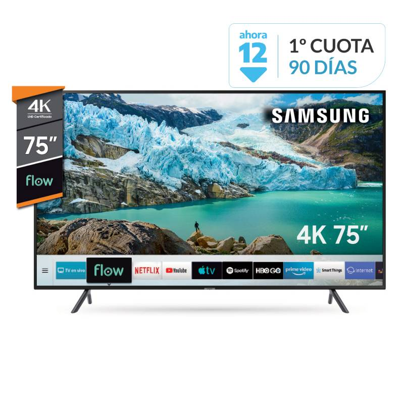 "Samsung - Smart TV 75"" UN75RU7100G 4K Ultra HD"
