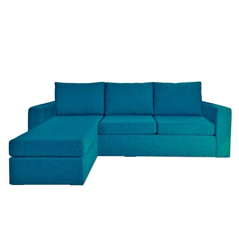 Full Confort - Sillón esquinero intercambiable chenille Cubick Compact