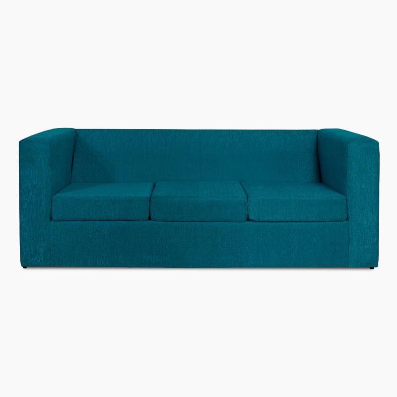 Mi Sofa - Sillón 3 cuerpos chenille Cubo