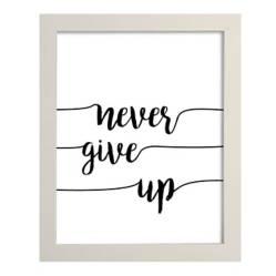 Puerta de Goya - Cuadro Never give up 27.5x22.5 cm