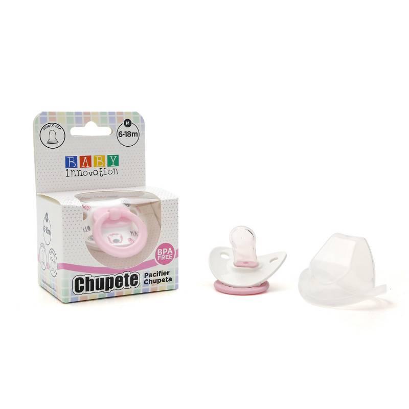 Baby innovation - Pack por 2 chupete premium con tapa m 6-18