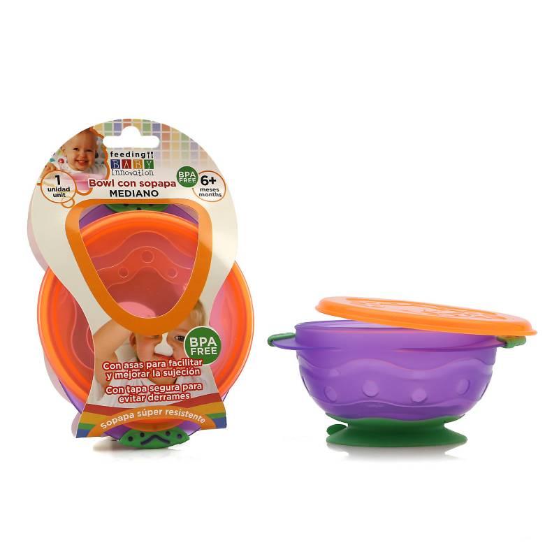 Baby innovation - Bowl mediano con asas y sopapa