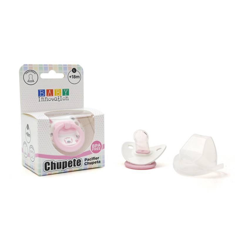 Baby innovation - Pack por 2 chupete premium con tapa l +18